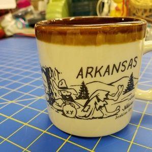 "Arkansas 4"" x 5"" x 4"" Mug Browns Hillbilly"